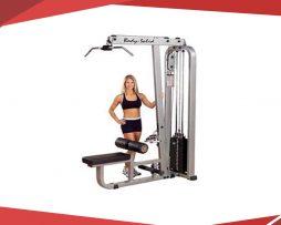 aparato maquina fitness para espalda y remo body solid slm300g