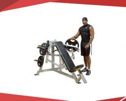 Maquina fitness Aparato para press de pecho con apalancamiento body solid lvip