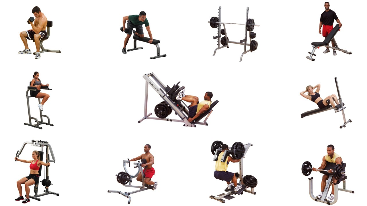 Paquete gimnasio profesional body solid mexico for Gimnasio one