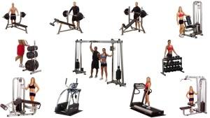 aparatos para gimnasio