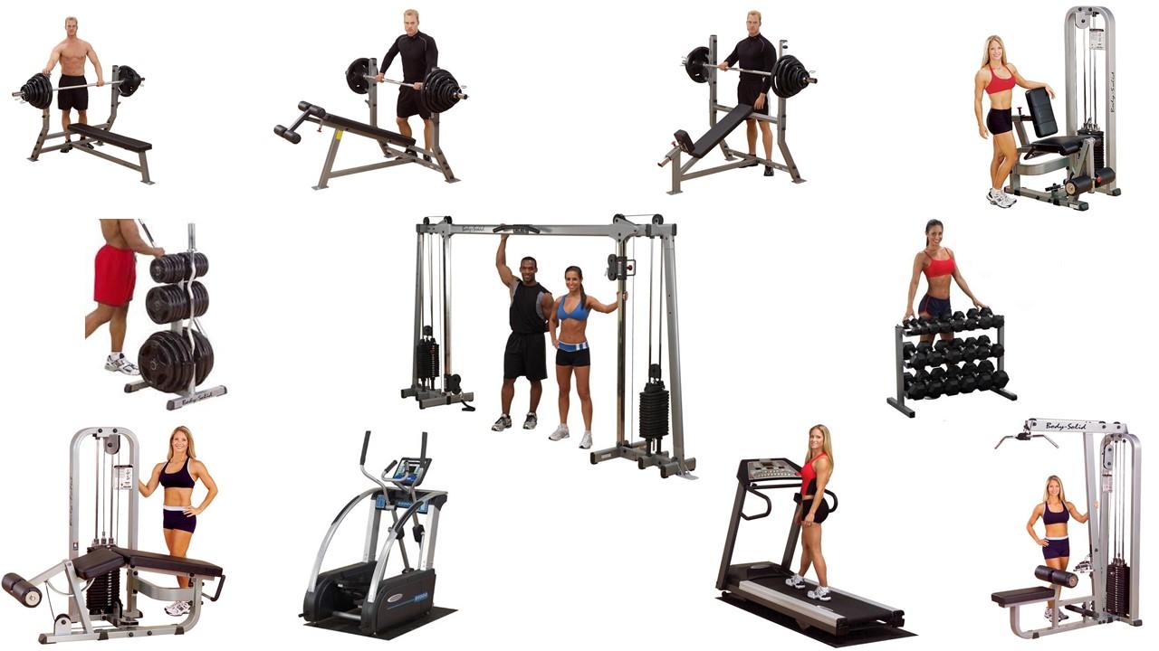 Paquete gimnasio profesional body solid mexico for Aparatos gimnasio