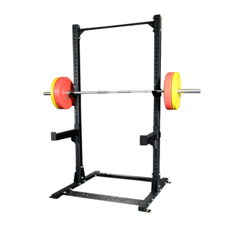 power rack comercial media jaula