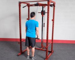 aditamento lat bar power rack best fitness BFLA100
